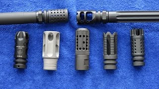The Best AR-15 Muzzle Devices In The World (HD)
