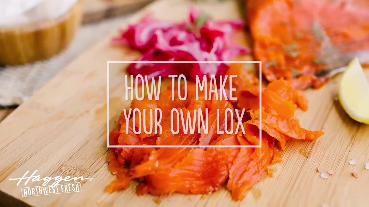 Make Your Own Homemade Lox - YouTube
