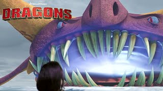 How to Tame Water Dwelling Tidal Dragons | HOW TO TRAIN YOUR DRAGON