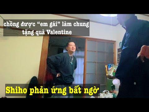 83⛩ Chồng được nữ sinh lớp 12 Nhật Bản tặng quà Valentine | Phản ứng bất ngờ của Shiho
