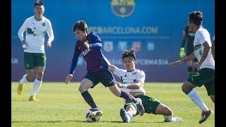 [PARTIDO COMPLETO] Barça B – CF Zhejiang Greentown (3-1)