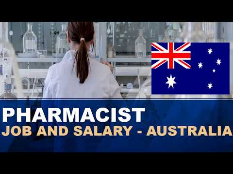 Pharmacist Job And Salary In Australia - Jobs And Wages In Australia
