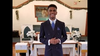 2018 D'Marre Craddock's 1st Sermon 15 yrs old