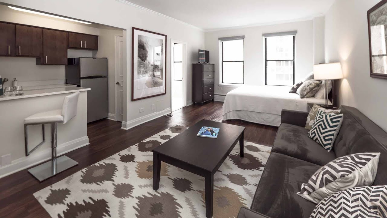Tour A Model Studio Apartment On The Gold Coast Streeterville Border