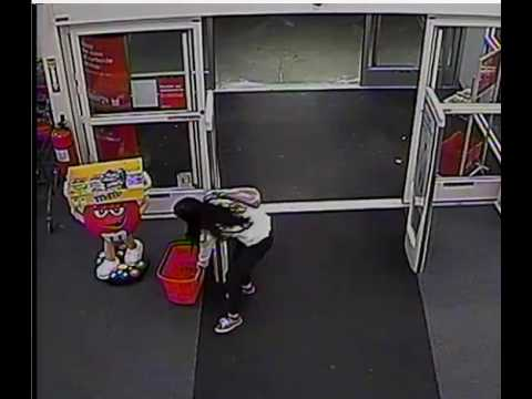 On March 20, a female suspect entered the CVS at 537 Canal St., Stamford, and stole a large amount of hair-care products.