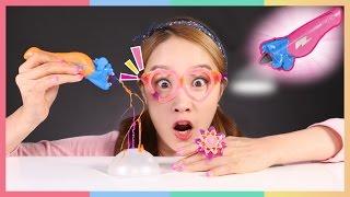 凱利的3D 魔法打印筆首飾制作玩具遊戲  凱利和玩具朋友們 | CarrieAndToys