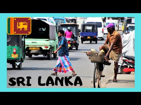 SRI LANKA, Graphic chaos and busy traffic in COLOMBO
