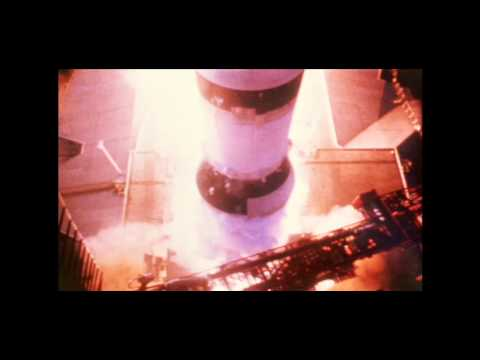 Apollo 11 - HD video of Moon launch!
