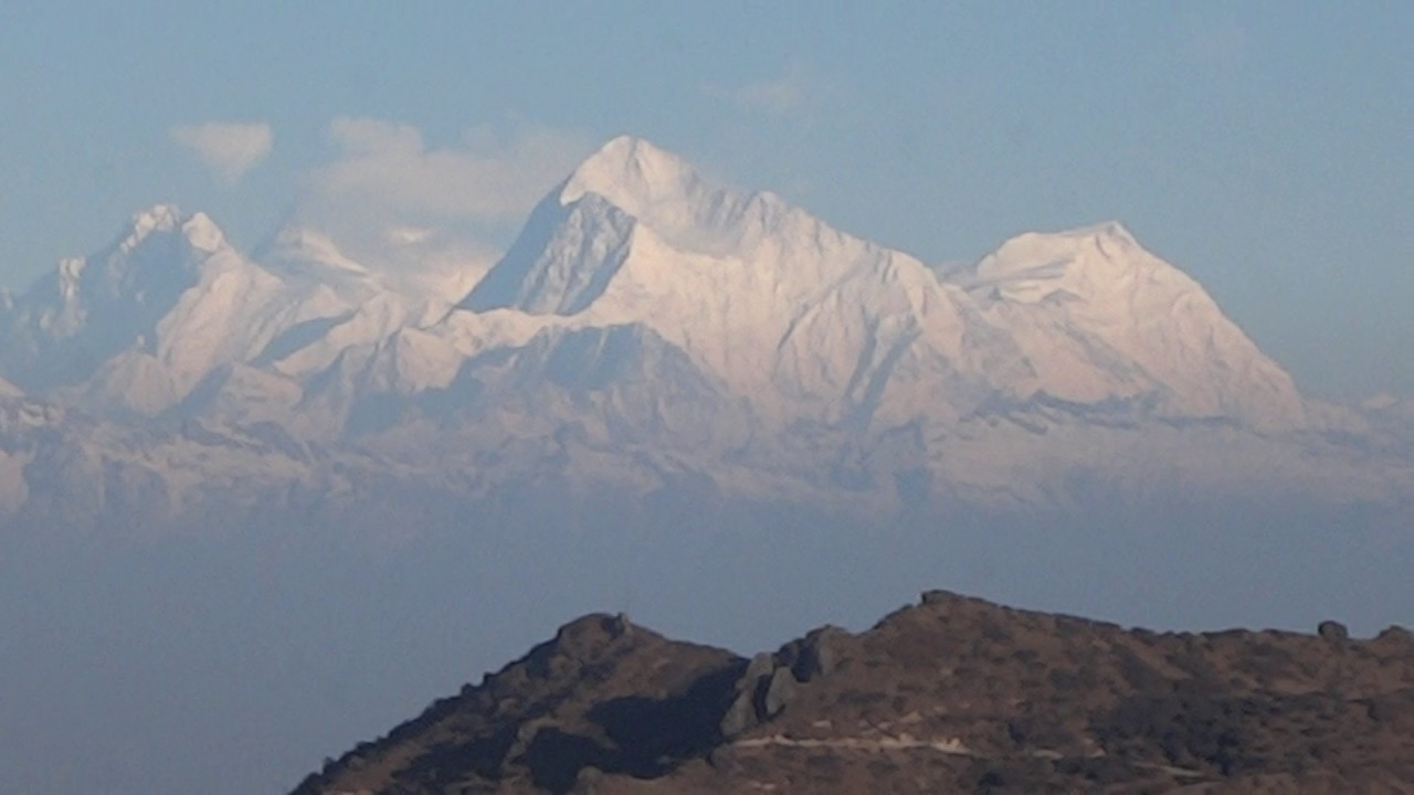 Kanchenjunga with Mt. Everest (March 2016) - YouTube