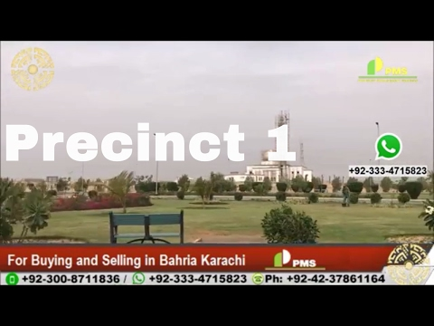 Precinct 1 Bahria Town Karachi Development Updates Presented by PMS Property Management Services