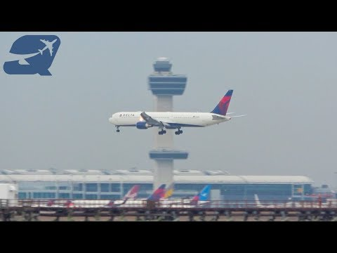 90+ Minutes of Plane Spotting - New York John F. Kennedy International Airport (KJFK)