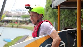 One day in Bali Wake park