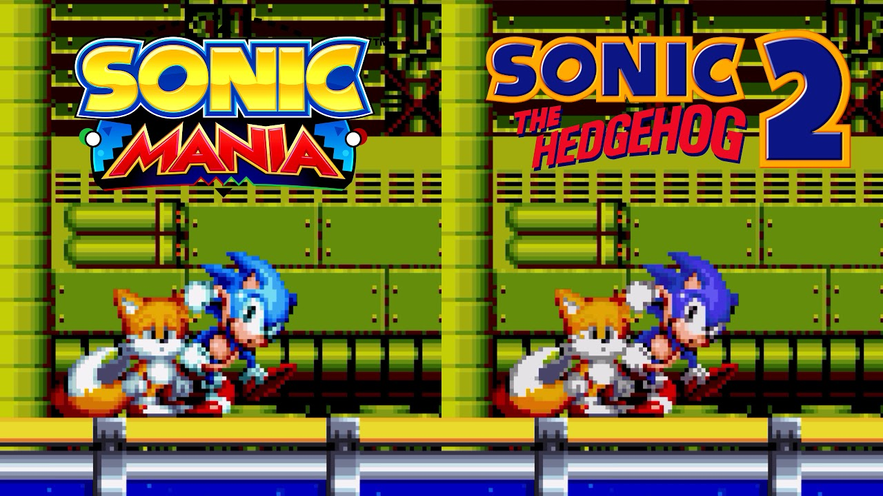 Sonic Mania - Sonic 2 Character Palettes Mod (Download)