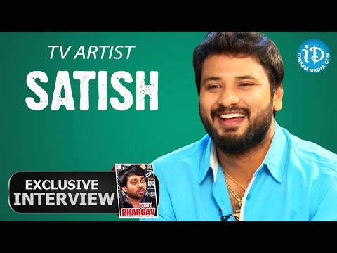 TV Artist Satish Exclusive Interview || Talking TV With iDream # 03