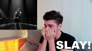 Miley Cyrus - Slide Away (Live)  | REACTION |