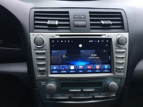Toyota Camry V40 -  Магнитола 8.0 на Android 6