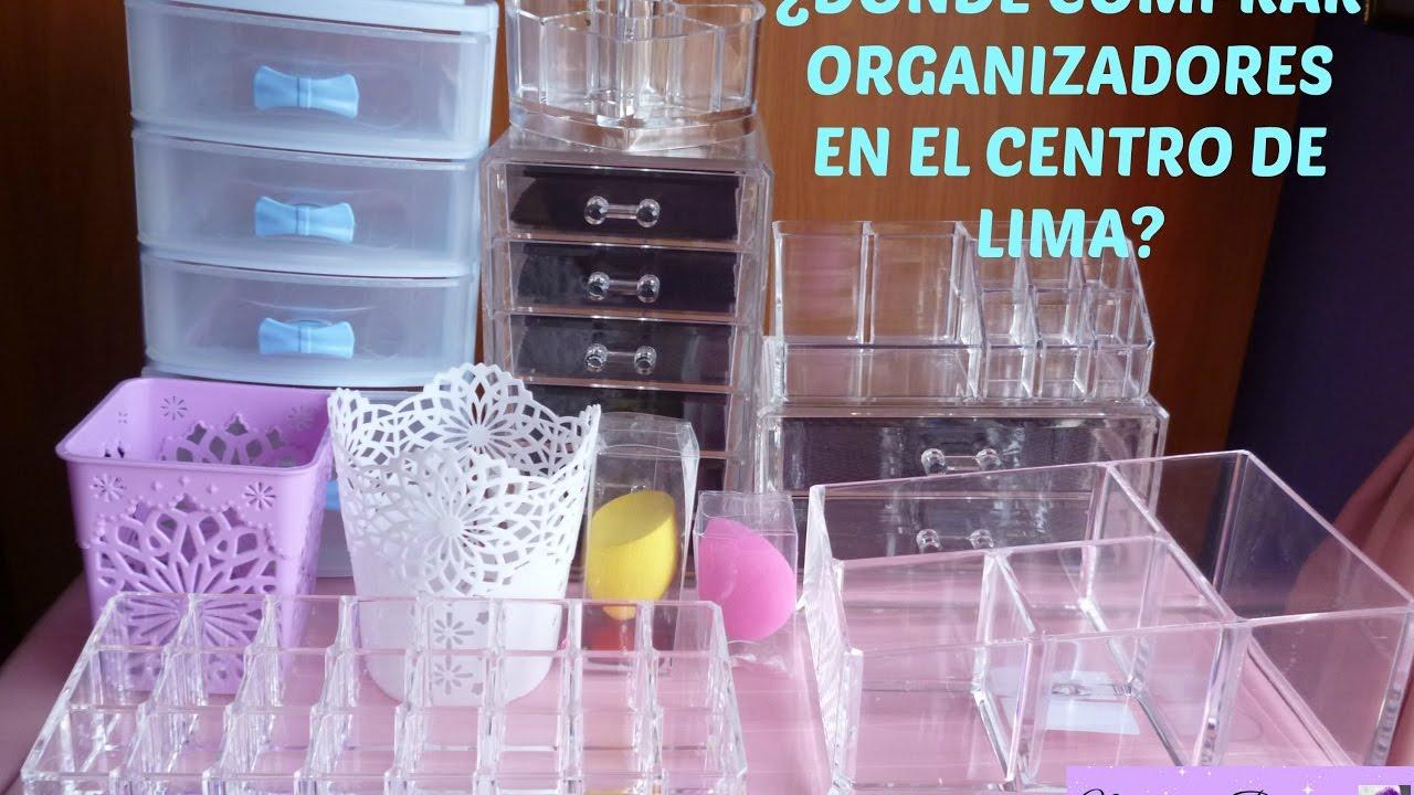 donde comprar organizador maquillaje