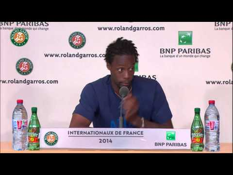 Roland Garros 2014 Monday Interview Monfils