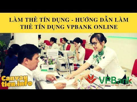Cần Vay Tiền || Làm Thẻ Tín Dụng VPBank Chỉ Với Mức Lương Tối Thiểu Từ 4.5 Triệu đồng.