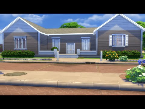 Almost H Shaped Family Home Speed Build