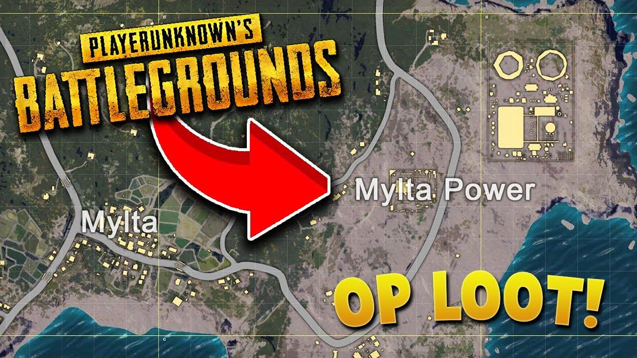 Playerunknown S Battlegrounds Maps Loot Maps Pictures: PlayerUnknown's Battlegrounds (PUBG Live