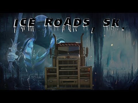Saskatchewan Ice Road Trucking! Freeze! Crazy, Cold Weather!