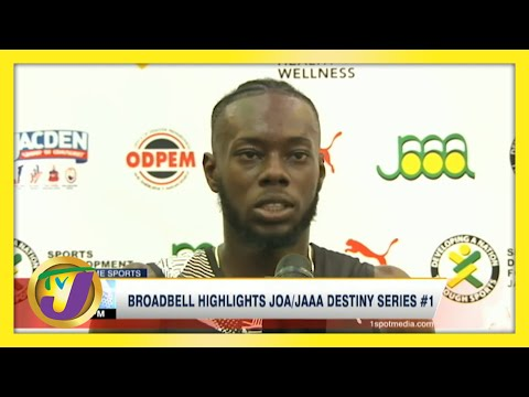 Broadbell Highlights JOA/JAAA Destiny Series Day 1   TVJ Sports