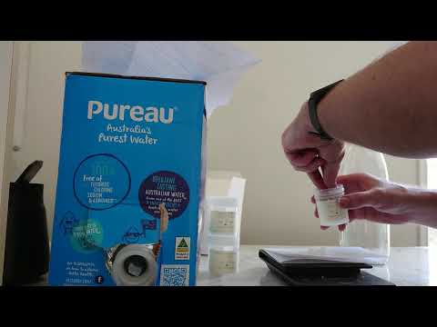 Unboxing Brew Water Mineral Kit And Building Magnesium Water Base