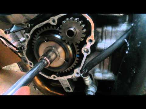 hayabusa starter clutch install - YouTube