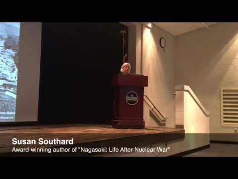 """Award-winning author Susan Southard talks about her book """"Nagasaki: Life After Nuclear War"""""""