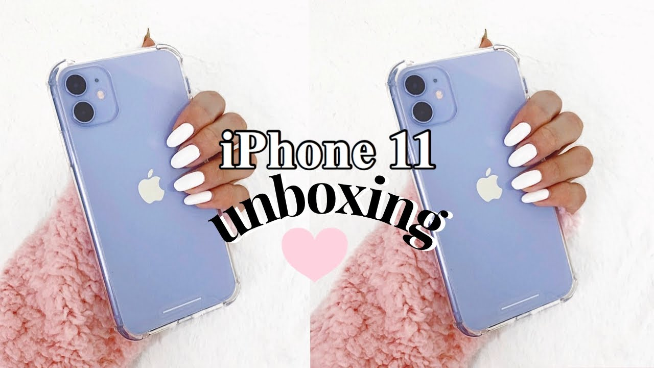 Purple iPhone 11 Unboxing & First