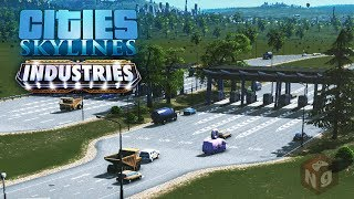 Cities: Skylines - Industries — Подробно о платных дорогах! #37