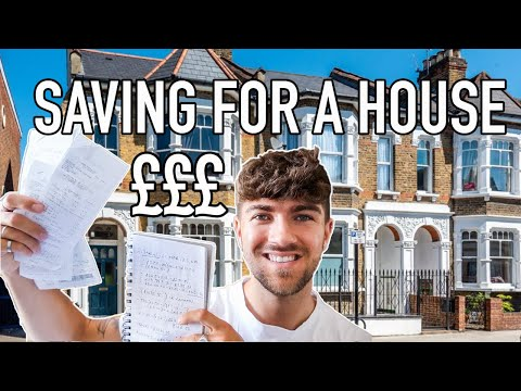 SAVING £30,000 FOR A HOUSING DEPOSIT | HOW TO SAVE FOR A HOUSE UK | FIRST TIME BUYERS