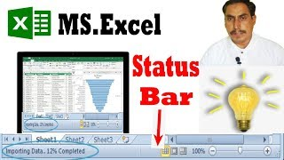 excel status bar - How to use status bar by learning center in…