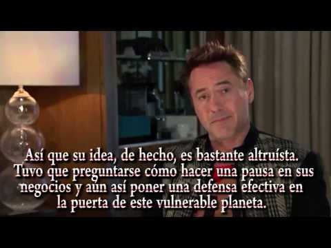 Entrevista Completa A Robert Downey Jr 2015 Sub Esp Youtube