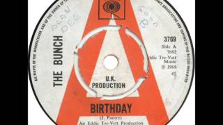 The Bunch - Birthday (1968)