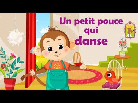 Un petit pouce qui danse comptine gestes avec paroles - Petite souris qui danse ...