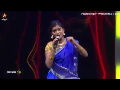 Super Singer  Season 6     Pudukkottai Senthil Raji Nattupura Song