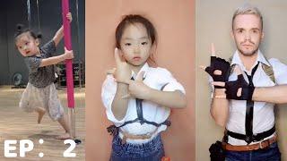 Mejores videosTikTok china,niños chinos/niños graciosos/talento Episodio 2