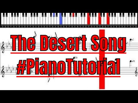 the-desert-song-piano-tutorial