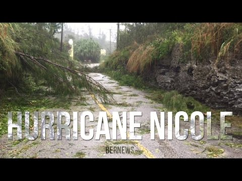 Hurricane Nicole In Bermuda, October 2016