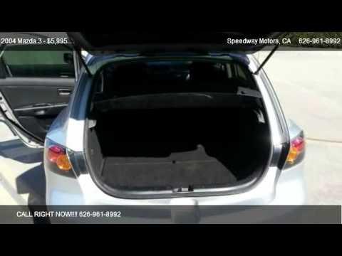 2004 Mazda 3 s 5 Door Hatchback for sale in La Puente