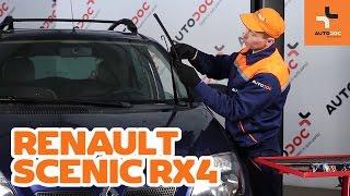 Ako vymeniť lišty predných stieračov na RENAULT SCENIC RX4 NÁVOD   AUTODOC