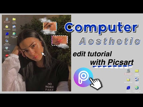 💻 Computer Aesthetic Edit // Only Using Picsart (Tutorial)