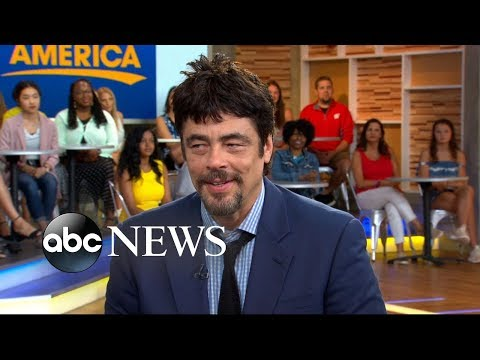 Benicio del Toro says original 'Sicario' film was 'a tough act to follow'