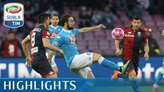 Napoli - Genoa - 3-1- Highlights - Matchday 30 - Serie A TIM 2015/16