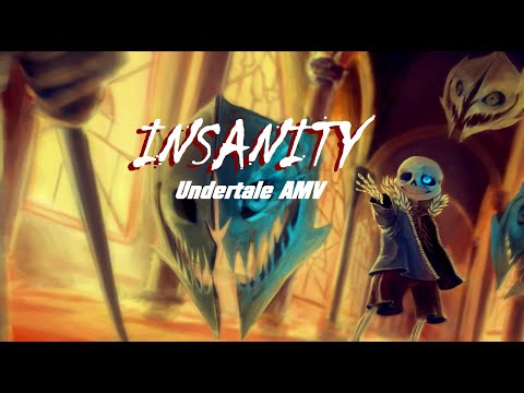 [AMV] Undertale - InSaNiTy [ENG&PLsubtitles] | ORIGINAL MV