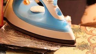 Как очистить подошву утюга от нагара(Как очистить подошву утюга - как очистить утюг от накипи и нагара в домашних условиях. Смотрите мое видео...., 2014-04-21T17:07:34.000Z)