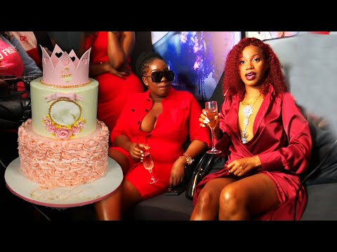 Sheebah's 31st Birthday Party. Launches her Bar and Office