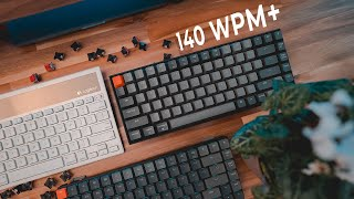 Are Mechanical Keyboards REALLY Worth It? (Fast Typing / 140 WPM+)